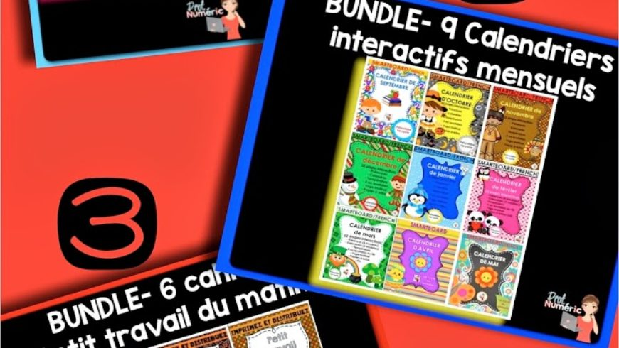 Mes produits disponibles en lots maintenant (BUNDLE) !