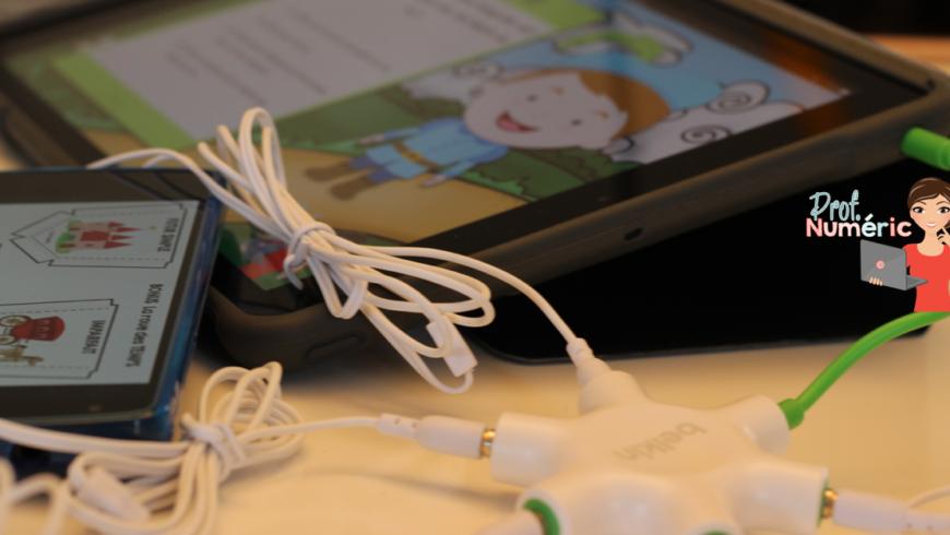Centre d'écoute avec 1 iPad dans ma classe : c'est possible !!