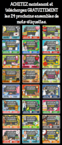 35 thèmes différents//Mots-étiquettes de l'ensemble grandissant