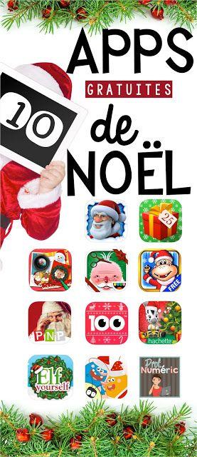 10 Apps gratuites de Noël