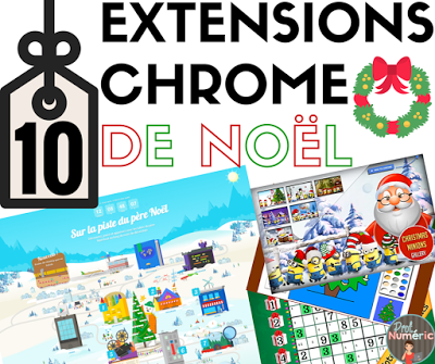 10 Extensions Chrome de Noël