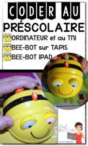 Bee-Bot pour coder au préscolaire