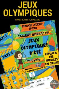 Jeux olympiques d'été interactifs