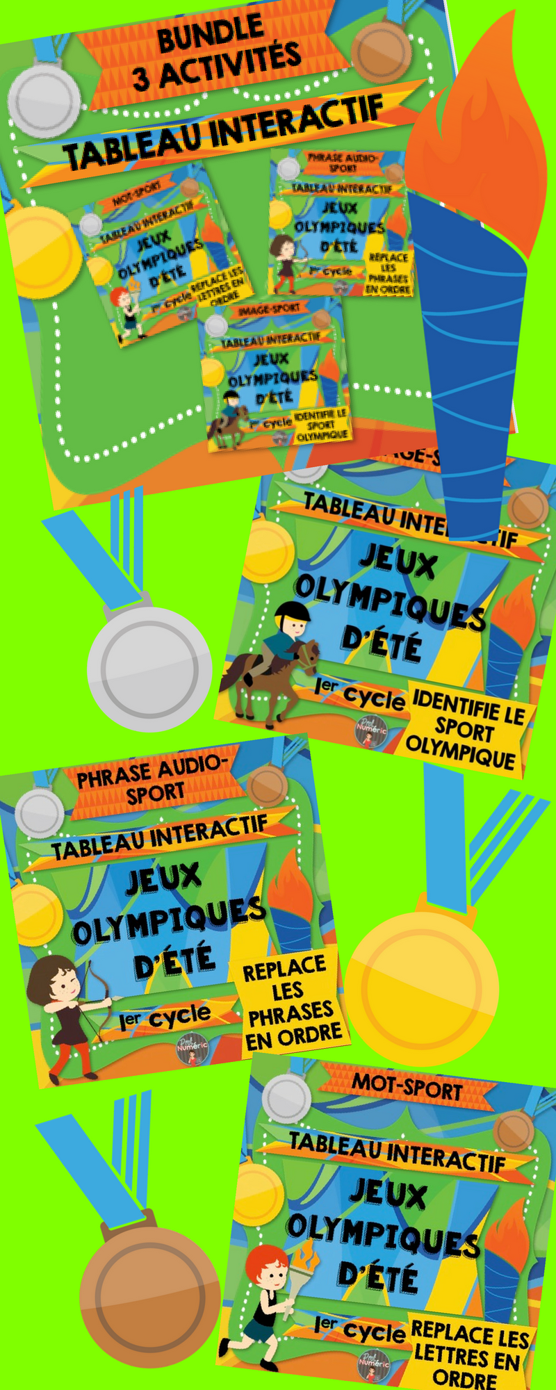 Sports olympiques interactifs