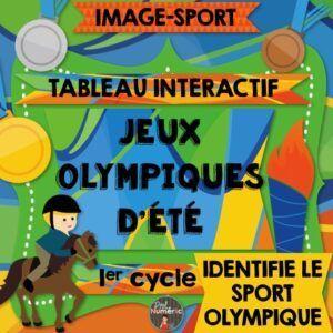 Jeux olympiques au TNI - Mots et lettres mélangés des sports olympiques