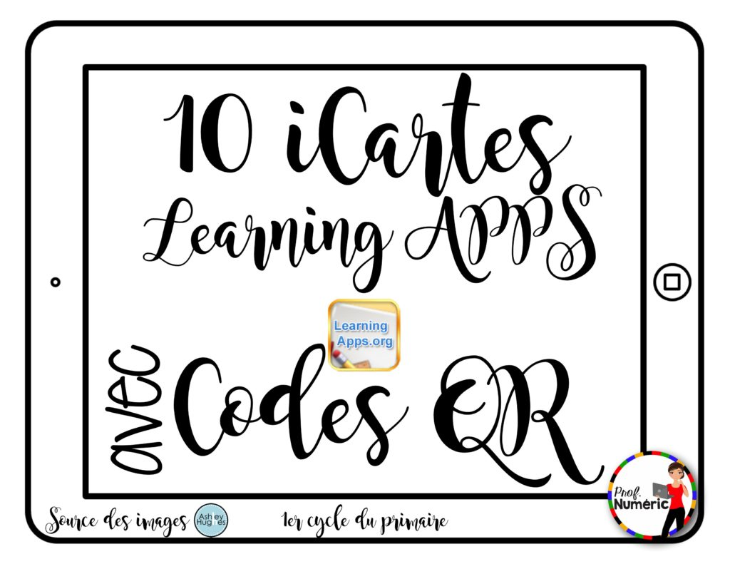 10 iCartes Learning Apps - 1er cycle du primaire