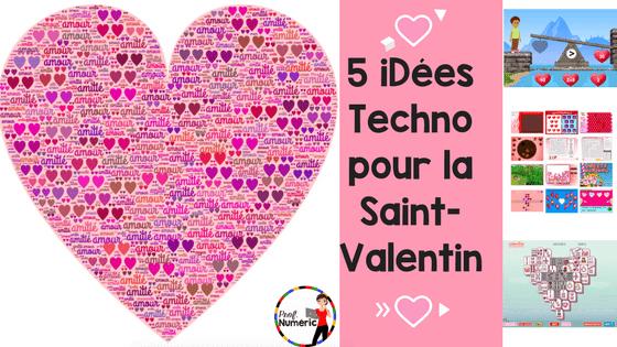 ❤️ 5 iDées Techno pour la Saint-Valentin ❤️