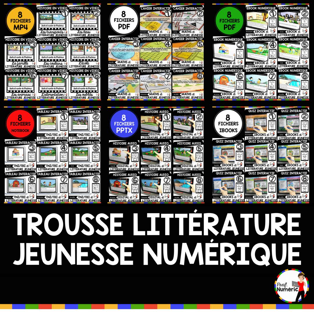 Trousse complète de littératie numérique (48 fichiers et +)