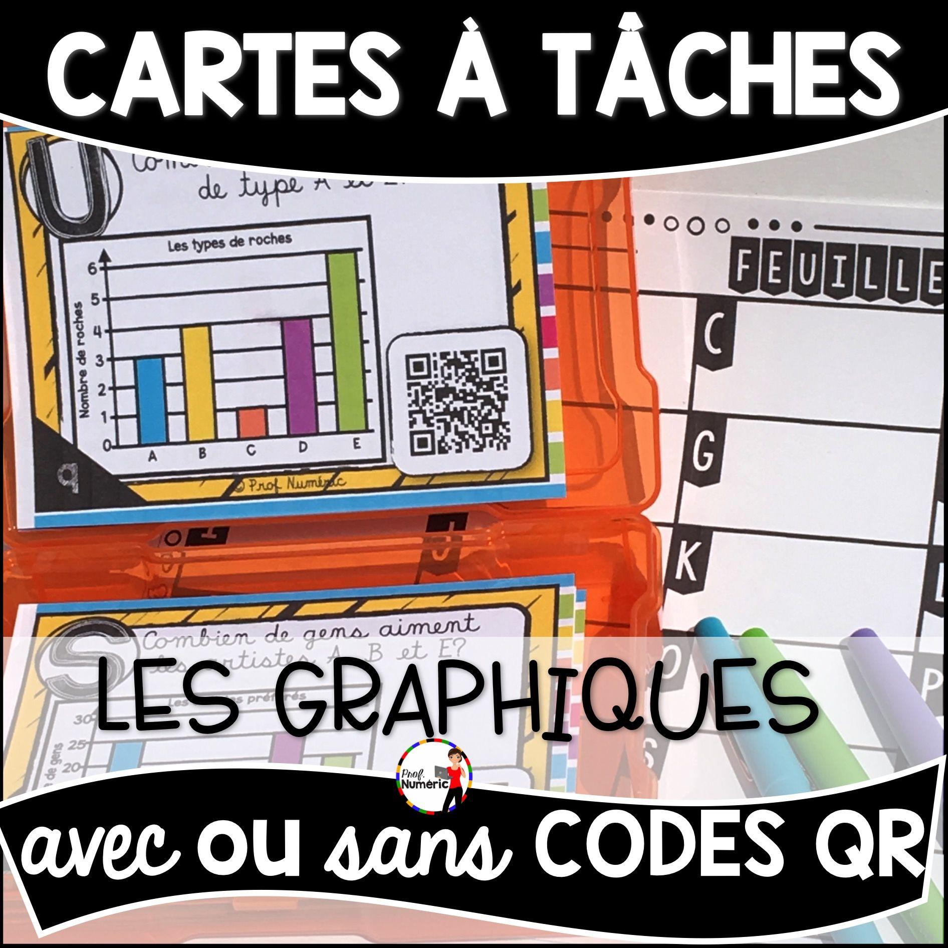 Cartes à Tâches CODES QR (Les Graphiques)