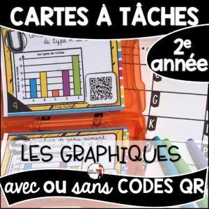 Cartes à Tâches avec CODES QR- Les Graphiques