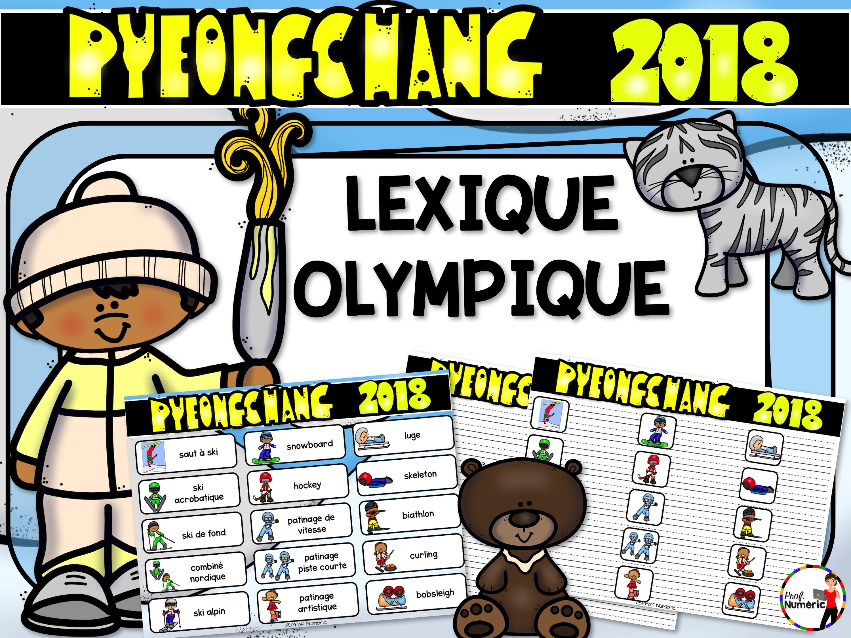 PyeongChang 2018 – Lexique olympique GRATUIT