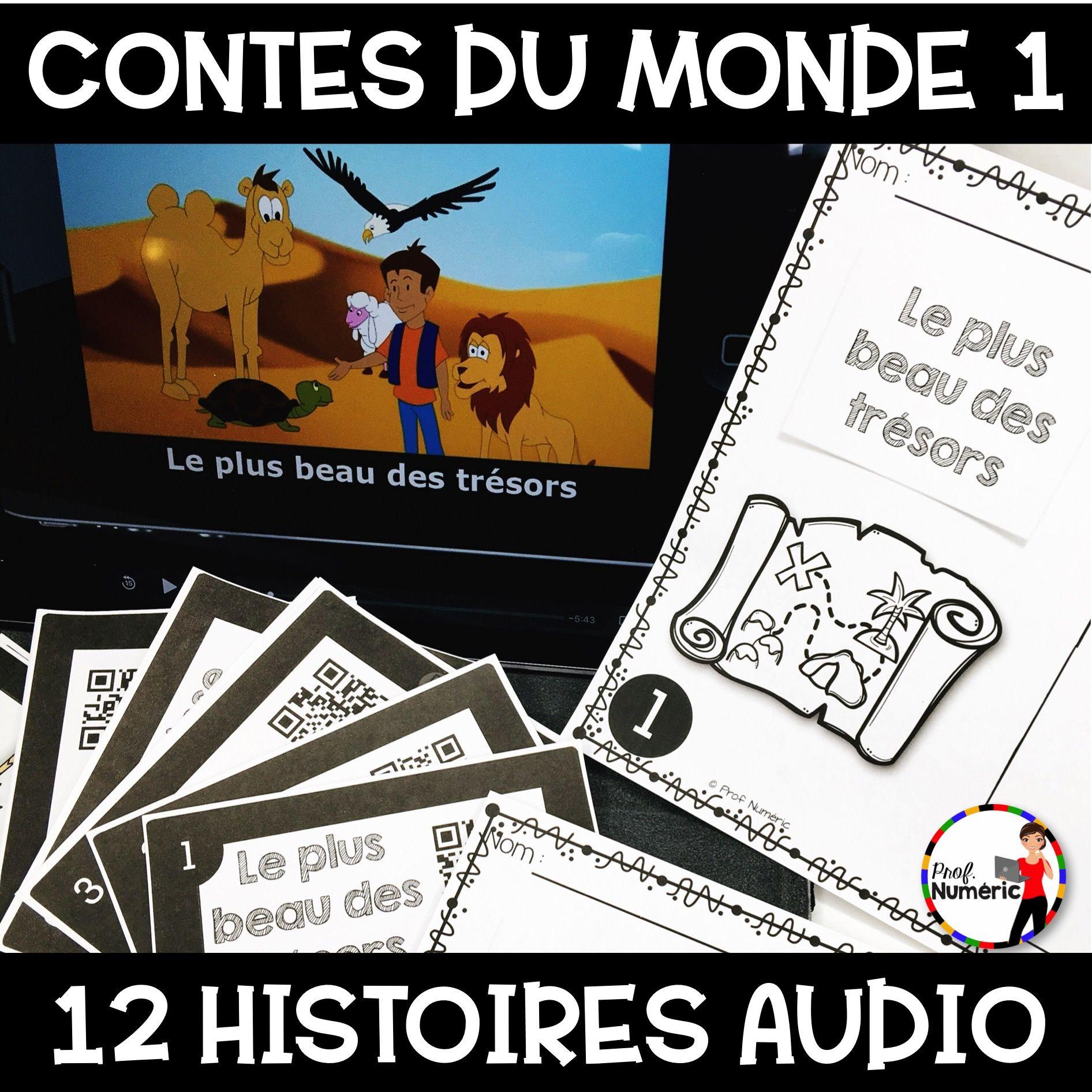 Contes du monde 1 (12 Histoires AUDIO + Tâches écrites)